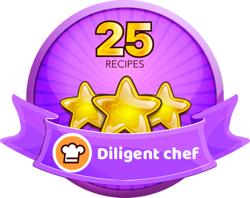 Cookpad Achievement - Starting Out Badge