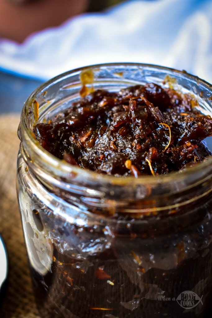 Tetuler Achar (Tamarind Sweet and Sour Pickle)