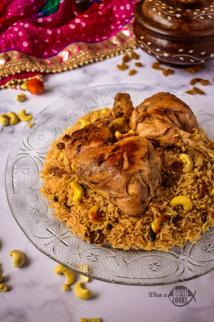 Arabian Kabsa Chicken Kabsa Arabian Chicken Rice When A Bong Cooks